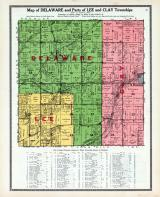 Delaware, Lee and Clay Townships, Altoona, Berwick, Polk County 1914